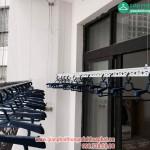 Lắp giàn phơi thông minh nhà chị Linh P2806 tòa R2B Royal City