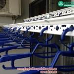 Nhà chị Gấm lắp giàn phơi thông minh P2132 tòa CT3 Tây Nam Linh Đàm