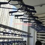 Nhà cô Bình lắp giàn phơi thông minh P525 tòa R5B Royal City