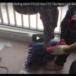 Video lắp giàn phơi thông minh chị Gấm P2132 tòa CT3 Tây Nam Linh Đàm