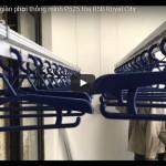 Video lắp giàn phơi nhà cô Bình P525 tòa R5B Royal City