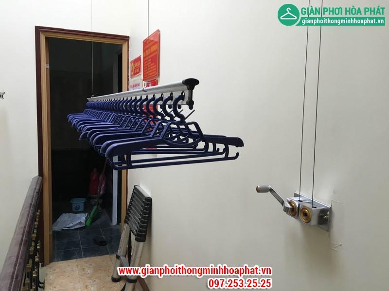 Giàn phơi thông minh khu đô thị Định Công