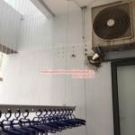 Lắp giàn phơi thông minh nhà chị Linh 12A12 Rice City Tây Nam Linh Đàm