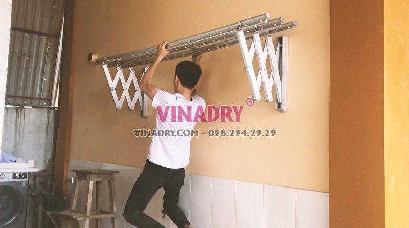 Phơi đồ gọn gàng, hiệu quả với giàn phơi gắn tường Vinadry