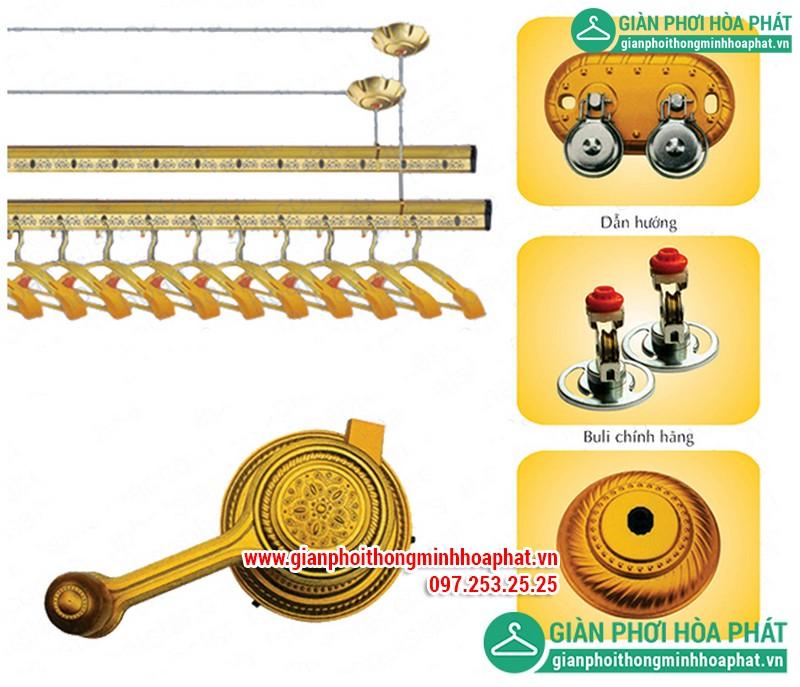 Giàn phơi thông minh Hòa Phát HP1603 là mẫu giàn phơi do Hòa Phát sản xuất bán chạy nhất hiện nay.