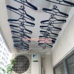 Quy trình lắp giàn phơi thông minh cho trần thạch cao