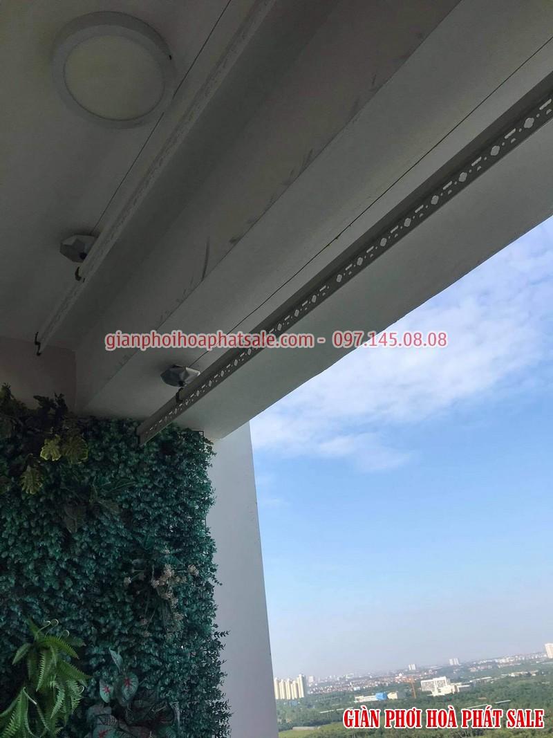 Lắp giàn phơi Hòa Phát tại Ecopark nhà anh Bình, phòng 206, tòa C3 - 02