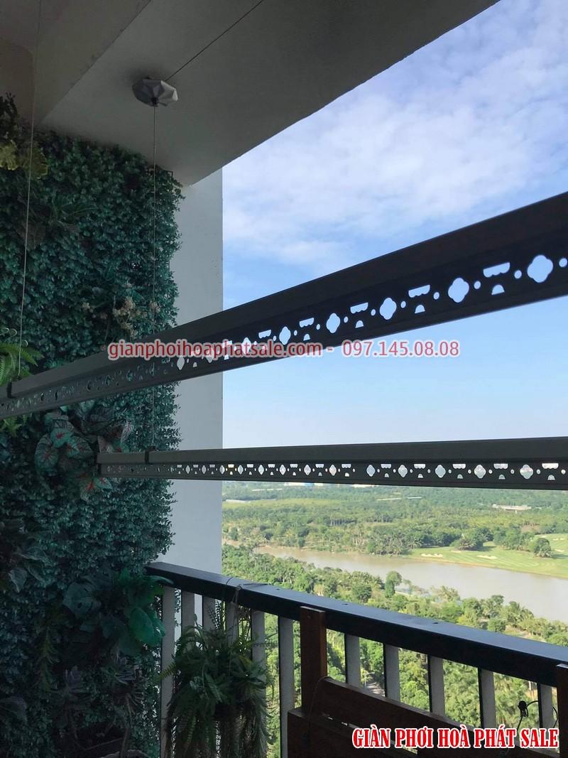 Lắp giàn phơi Hòa Phát tại Ecopark nhà anh Bình, phòng 206, tòa C3 - 03