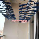 Ngắm giàn phơi thông minh hiện đại nhà anh Sơn, P 1104, chung cư CTM, 139 Cầu Giấy