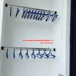 Lắp đặt giàn phơi thông minh nhà chị Huyền phòng 3419 tòa R4 B chung cư Royal city