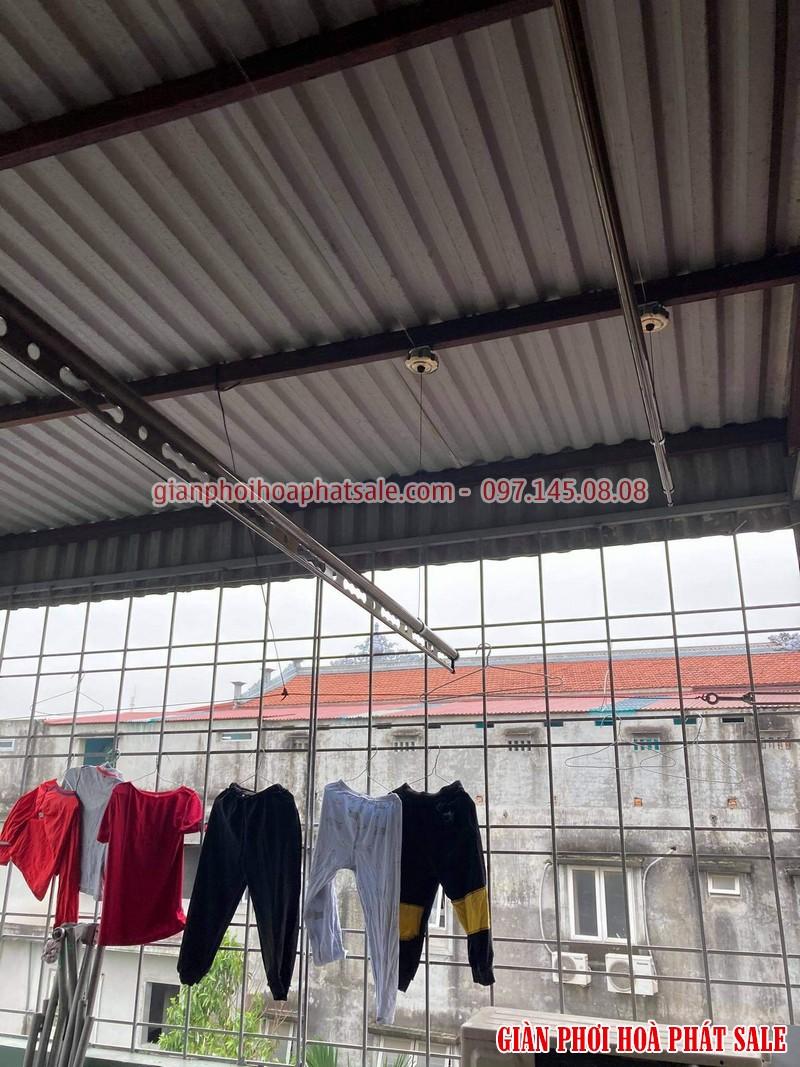Lắp giàn phơi cho trần mái tôn - Lắp trực tiếp vào khung chịu lực