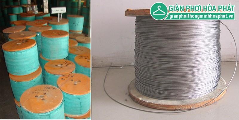 Cuộn dây cáp inox của lưới an toàn ban công