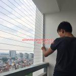 Lắp giàn phơi nhà chị Khánh P1208 toà nhà Lucky 30 Phạm Văn Đồng