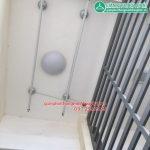 Giàn phơi thông minh cho ban công 1,5 m2 nhà anh Linh, P1413, Tòa GP Building, 170 Đê La Thành