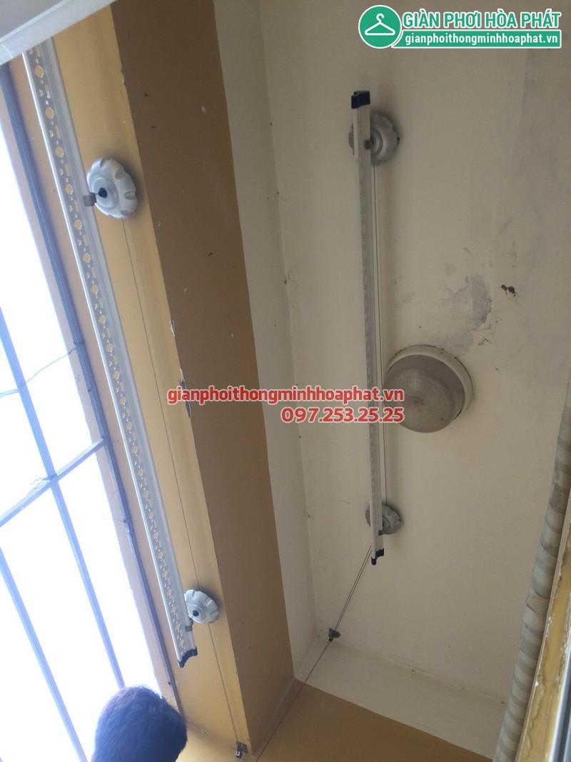 Giàn phơi thông minh Anh Thịnh phòng D2 tầng 8 số 335 Cầu Giấy 01