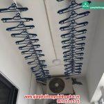 Ngắm giàn phơi thông minh nhà chị Linh, P2602, Tòa B, chung cư Xuân Mai Park state, Hà Đông, Hà Nội