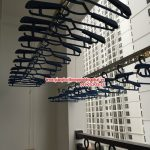Chùm ảnh đẹp về giàn phơi thông minh nhà cô Hải, P711, Tòa T9, Times City