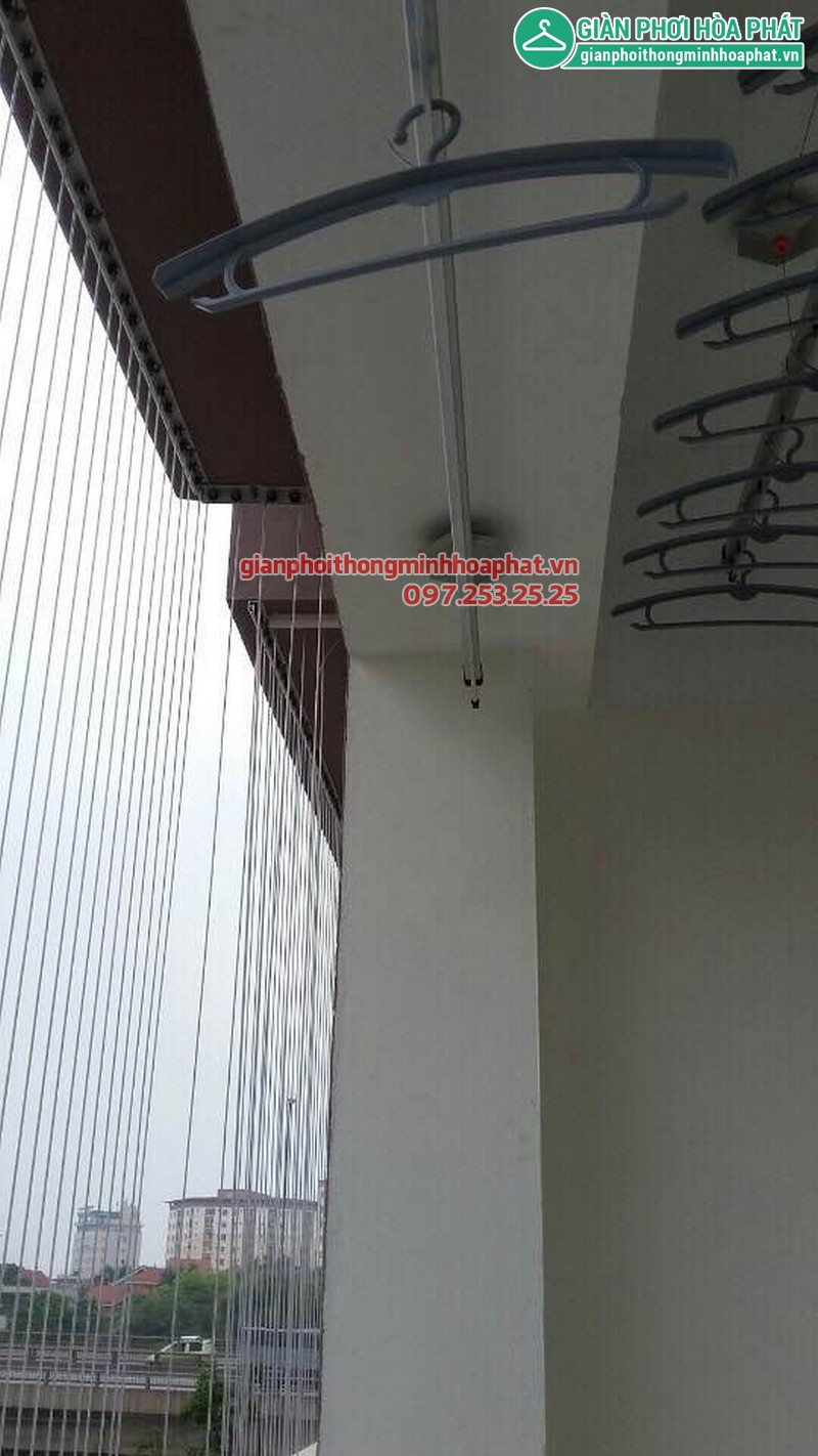 Lưới an toàn ban công nhà chị Ngân 03