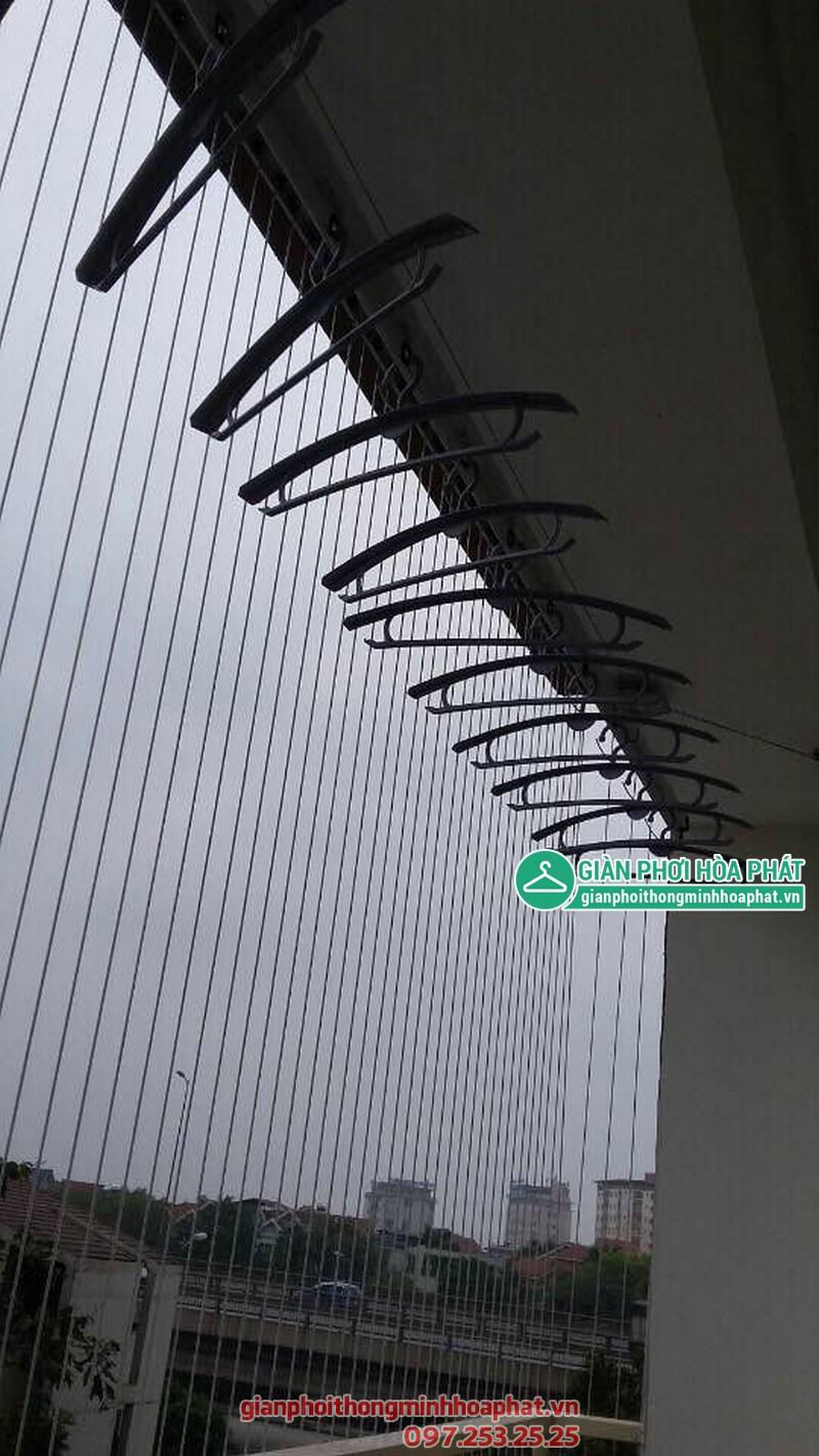Lắp đặt lưới an toàn ban công tại chung cư VP6, Linh Đàm