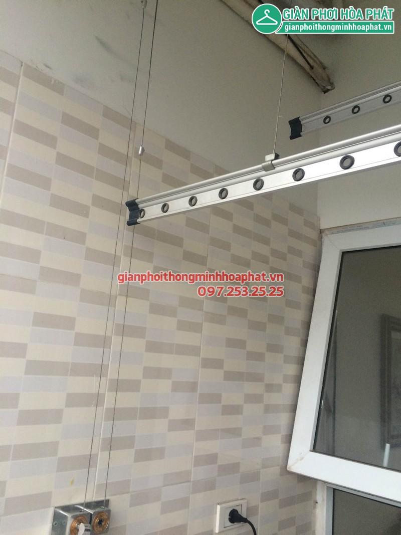 Sửa giàn phơi nhà anh Thăng P508, nhà D, Vinaconex 3 Trần Thái Tông 01