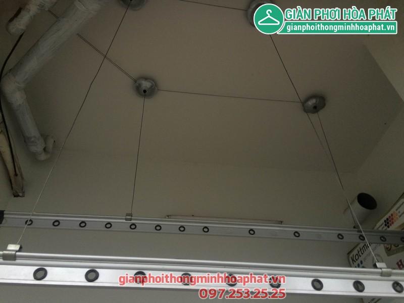 Sửa giàn phơi nhà anh Thăng P508, nhà D, Vinaconex 3 Trần Thái Tông 04