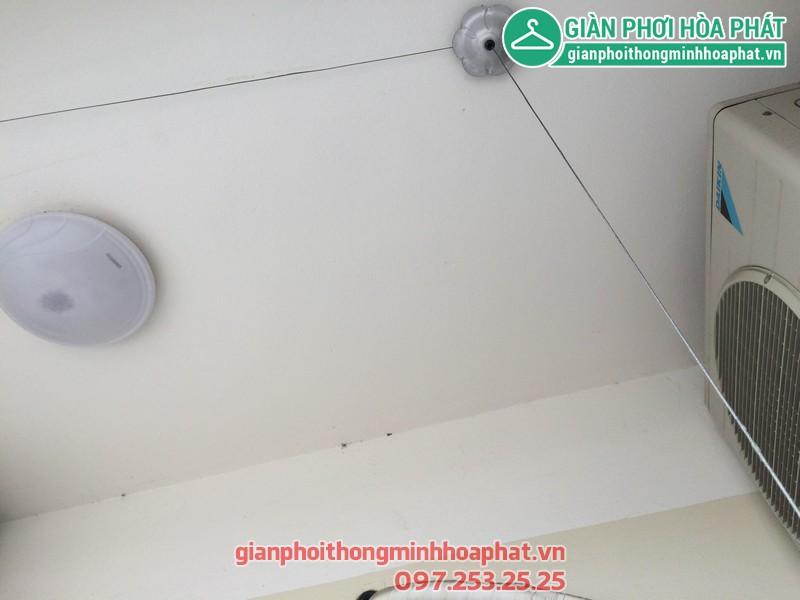 Sửa thay dây giàn phơi nhà 1506 - No 10A - KĐT Sài Đồng - Long Biên 02