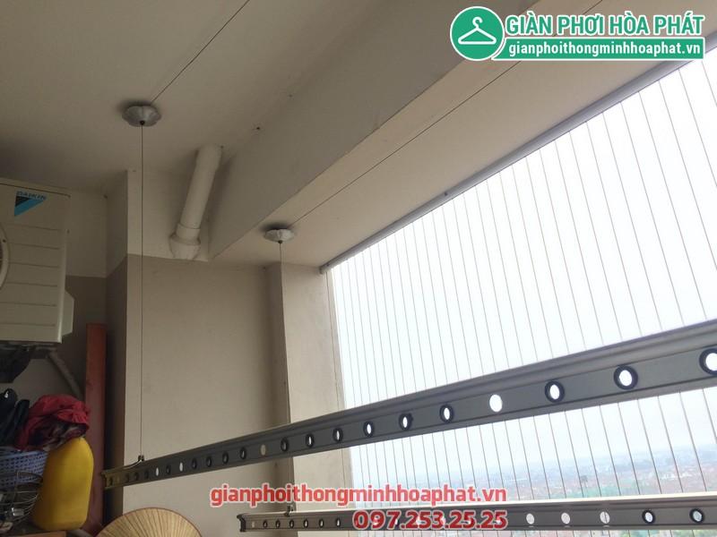 Sửa thay dây giàn phơi nhà 1506 - No 10A - KĐT Sài Đồng - Long Biên 03