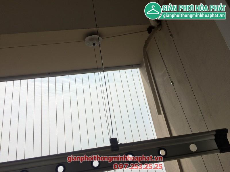 Sửa thay dây giàn phơi nhà 1506 - No 10A - KĐT Sài Đồng - Long Biên 04