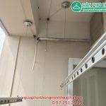 Sửa thay dây giàn phơi nhà 1506, No 10A, KĐT Sài Đồng, Long Biên