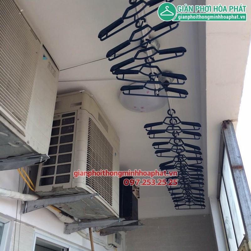 Giàn phơi thông minh nhà bác Trinh P1315 CT3A KĐT Văn Quán, Hà Đông 01