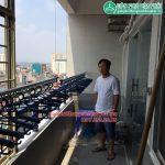 Lắp giàn phơi nhà bác Trinh P1315 CT3A KĐT Văn Quán, Hà Đông