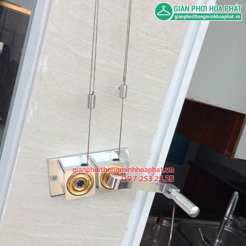 Giàn phơi thông minh nhà bác Trinh P1315 CT3A KĐT Văn Quán, Hà Đông 05