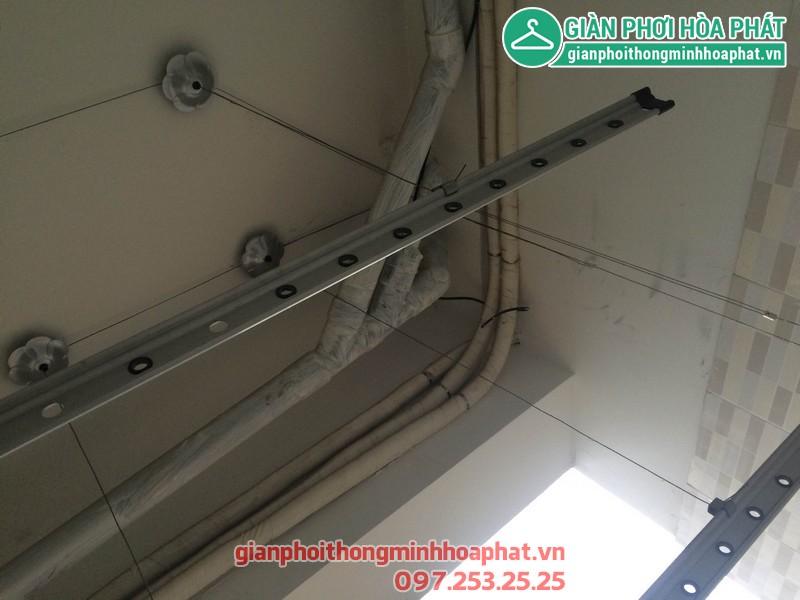 Sửa giàn phơi nhà anh Chung P3028 chung cư VP5 KĐT Linh Đàm 02