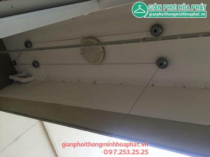 Sửa giàn phơi thông minh nhà anh Huy P203 Sunrise Building Sài Đồng 01