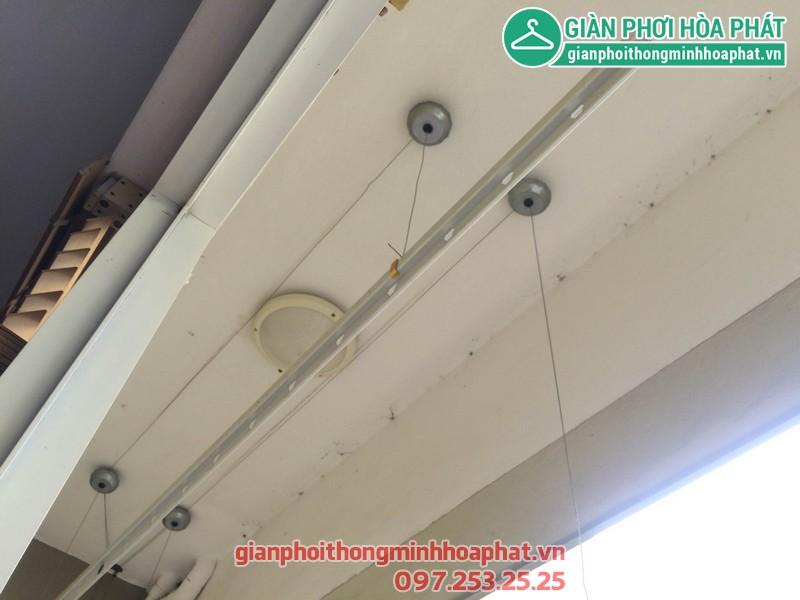 Sửa giàn phơi thông minh nhà anh Huy P203 Sunrise Building Sài Đồng 02