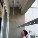 Sửa giàn phơi thông minh nhà anh Huy P203 Sunrise Building Sài Đồng