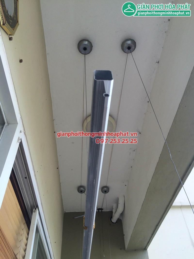 Sửa giàn phơi thông minh nhà anh Huy P203 Sunrise Building Sài Đồng 04