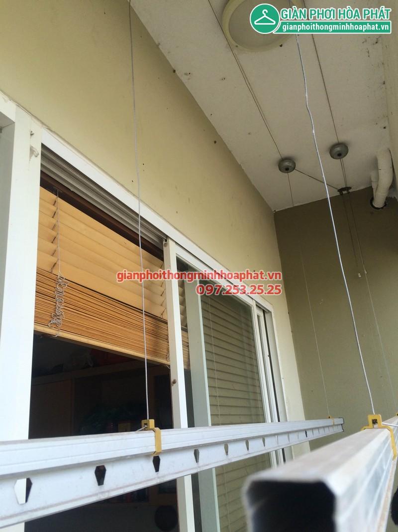 Sửa giàn phơi thông minh nhà anh Huy P203 Sunrise Building Sài Đồng 05