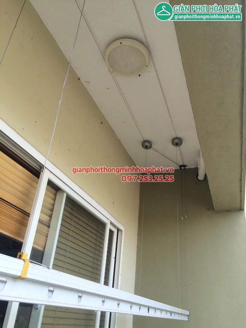 Sửa giàn phơi thông minh nhà anh Huy P203 Sunrise Building Sài Đồng 06