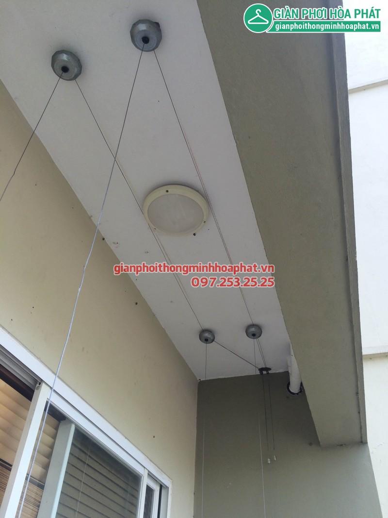 Sửa giàn phơi thông minh nhà anh Huy P203 Sunrise Building Sài Đồng 07