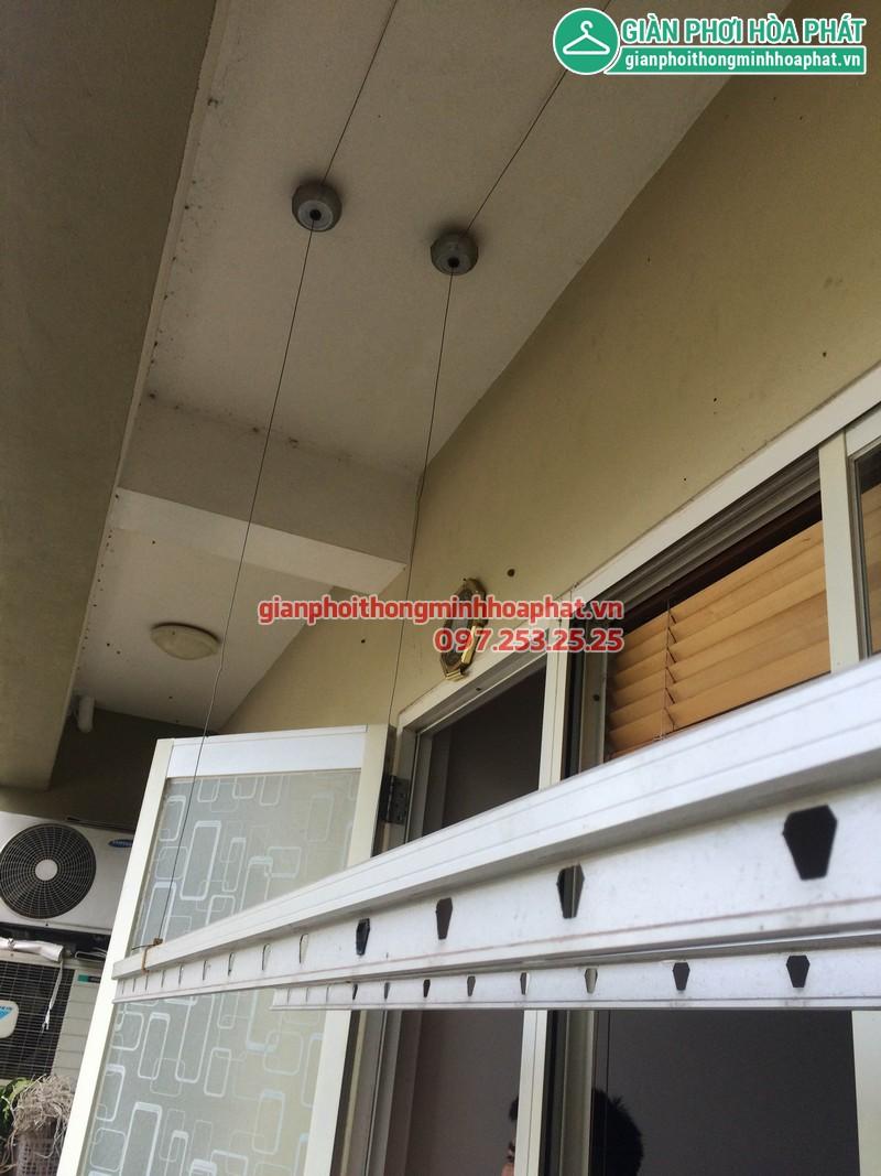 Sửa giàn phơi thông minh nhà anh Huy P203 Sunrise Building Sài Đồng 08