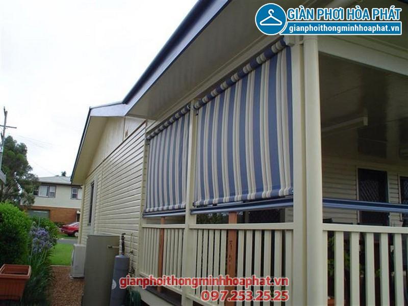 Sử dụng bạt che nắng mưa để bảo vệ nội thất, đồ dùng khỏi sự xâm hại của nước mưa