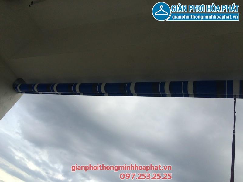 Bạt che nắng nhà anh Định P1506 toà HH3 Linh Đàm 01