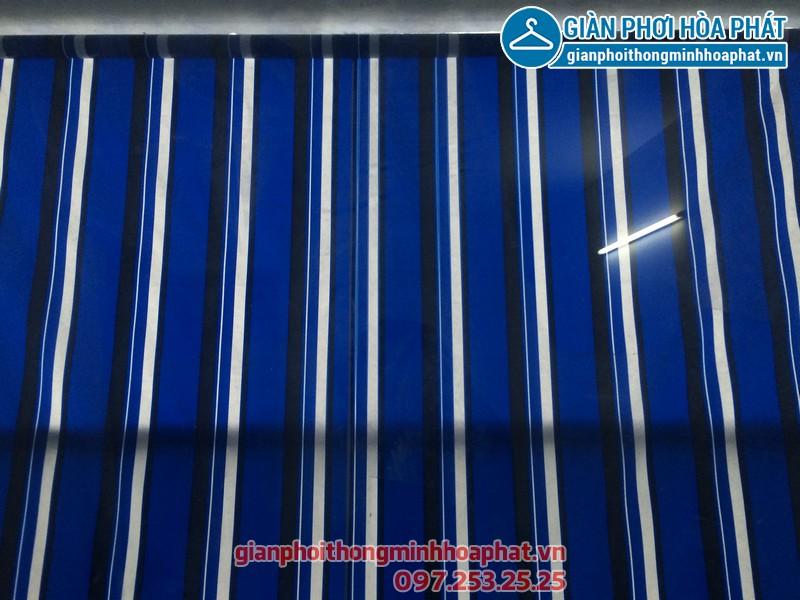 Bạt che nắng nhà anh Định P1506 toà HH3 Linh Đàm 04
