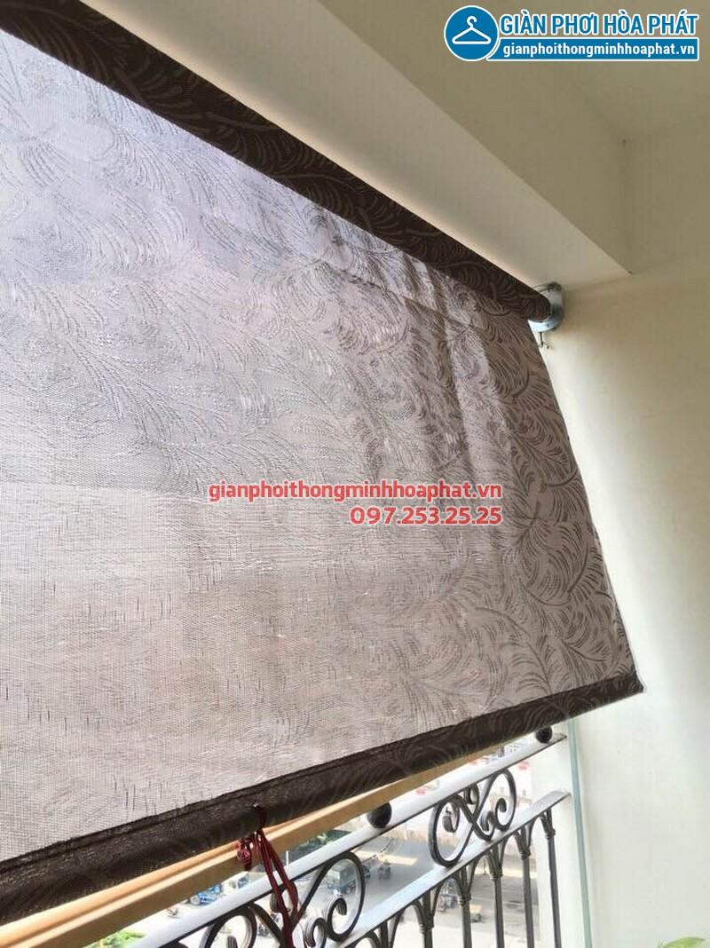 Bạt che nắng ban công tự cuốn P802A1 toà H1 Hoà Bình Green, 505 Minh Khai 08