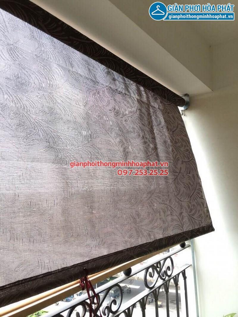 Bạt che nắng ban công tự cuốn P802A1 toà H1 Hoà Bình Green, 505 Minh Khai 09