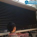 Lắp lưới an toàn ban công nhà anh Tường CT8A kđt Đặng Xá
