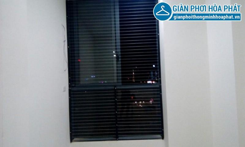 Lắp lưới an toàn, lưới bảo vệ nhà chị Ngân tầng 15 tòa G3B Yên Hòa 04