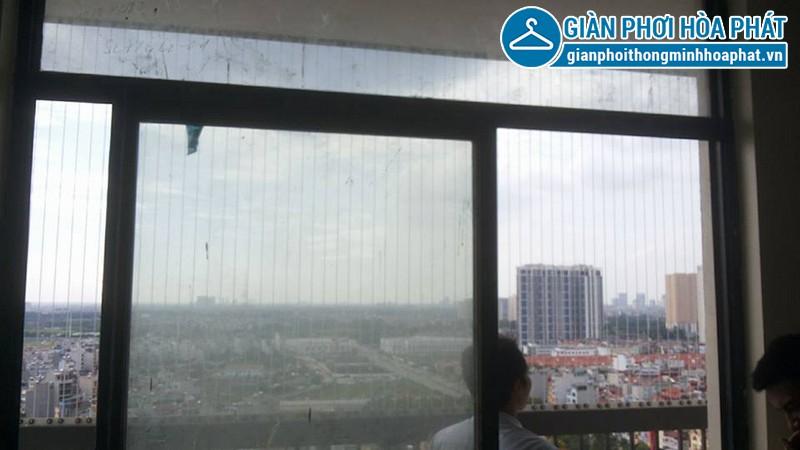 Lắp lưới bảo vệ nhà anh Điệp chung cư Westa, Văn Quán, Hà Đông 02