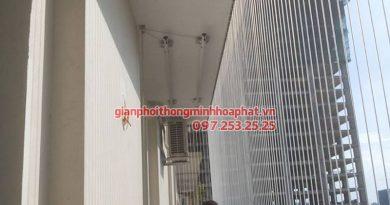 Lắp lưới bảo vệ nhà anh Điệp chung cư Westa, Văn Quán, Hà Đông